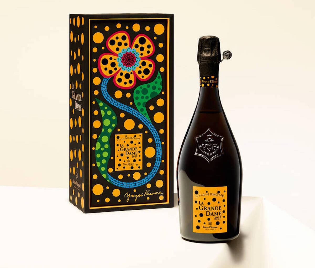 Yayoi Kusama Veuve Clicquot Francophile Gift Ideas