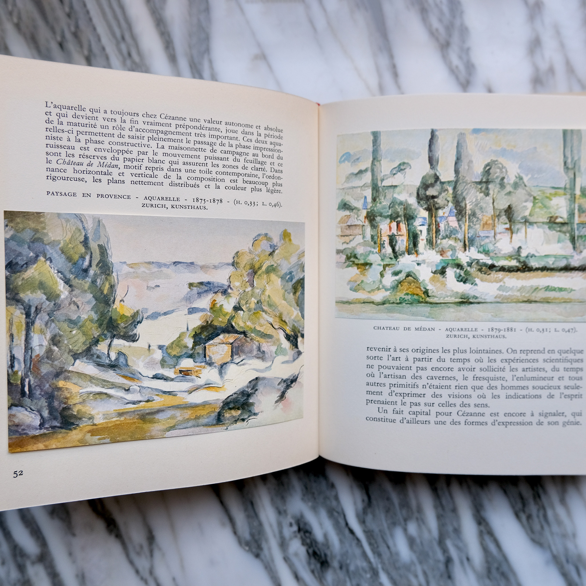 Set of Cézanne, Manet, and Monet Books