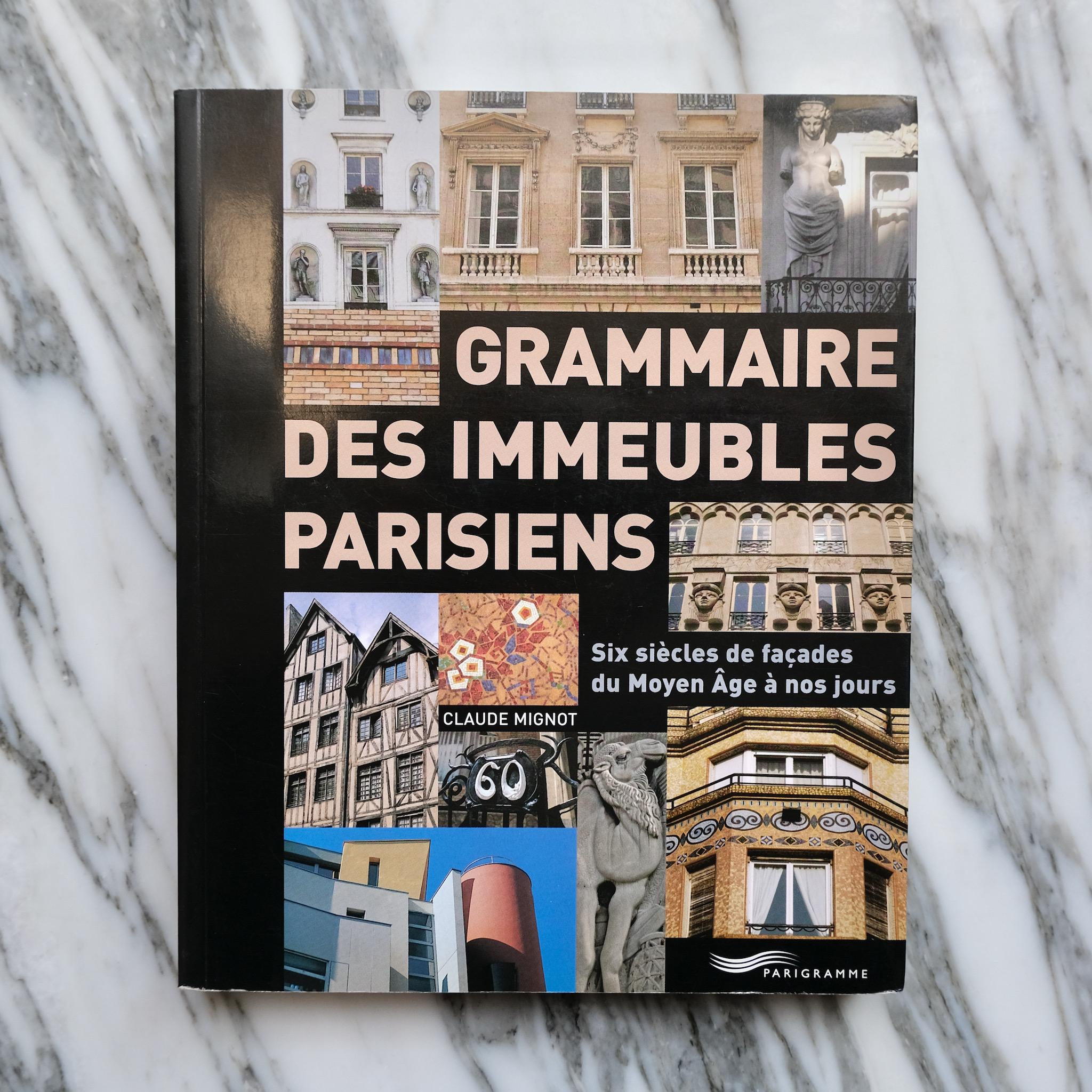 second bouquinistes auction Grammaire des Immeubles Parisiens