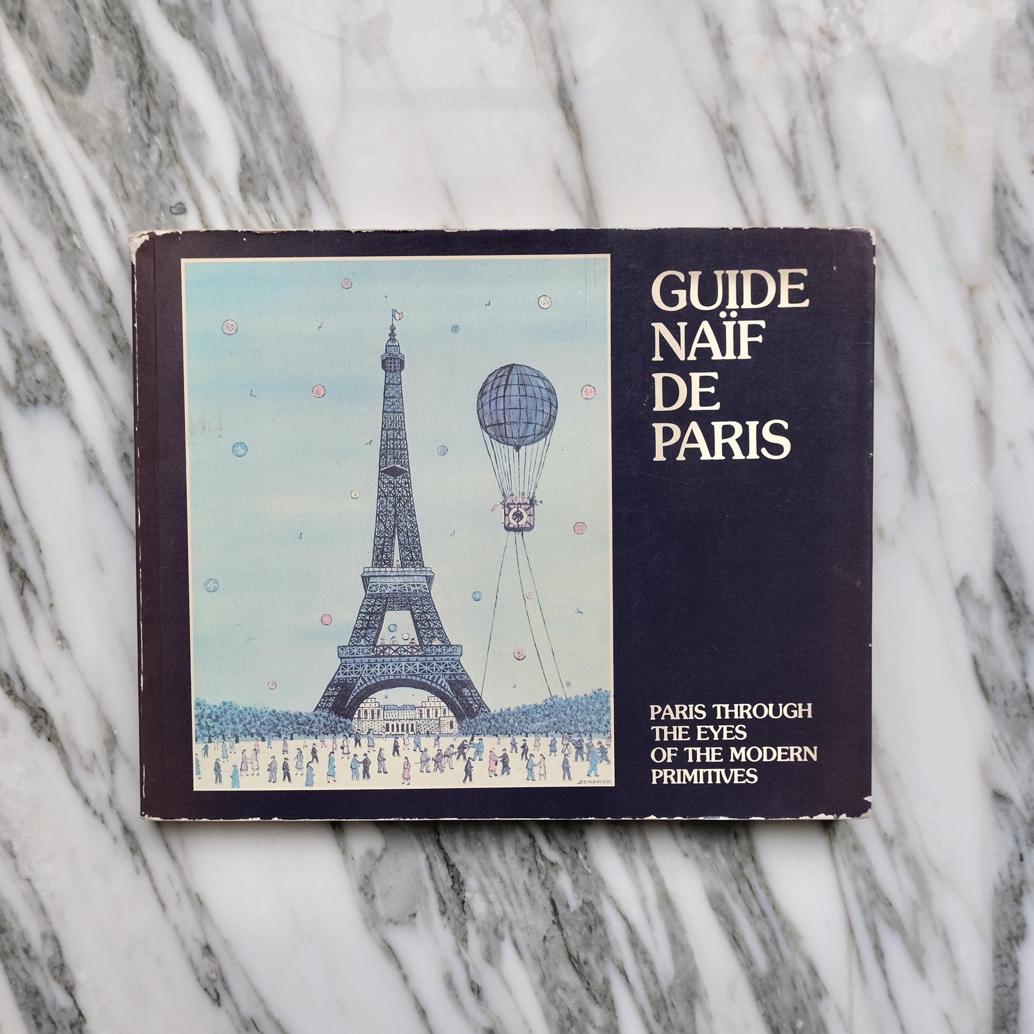 second bouquinistes auction Guide Naïf de Paris