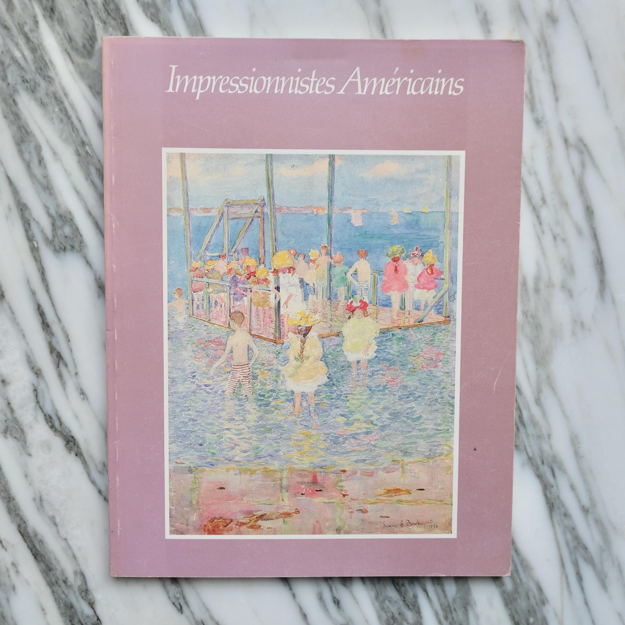 second bouquinistes auction Impressionistes Américains
