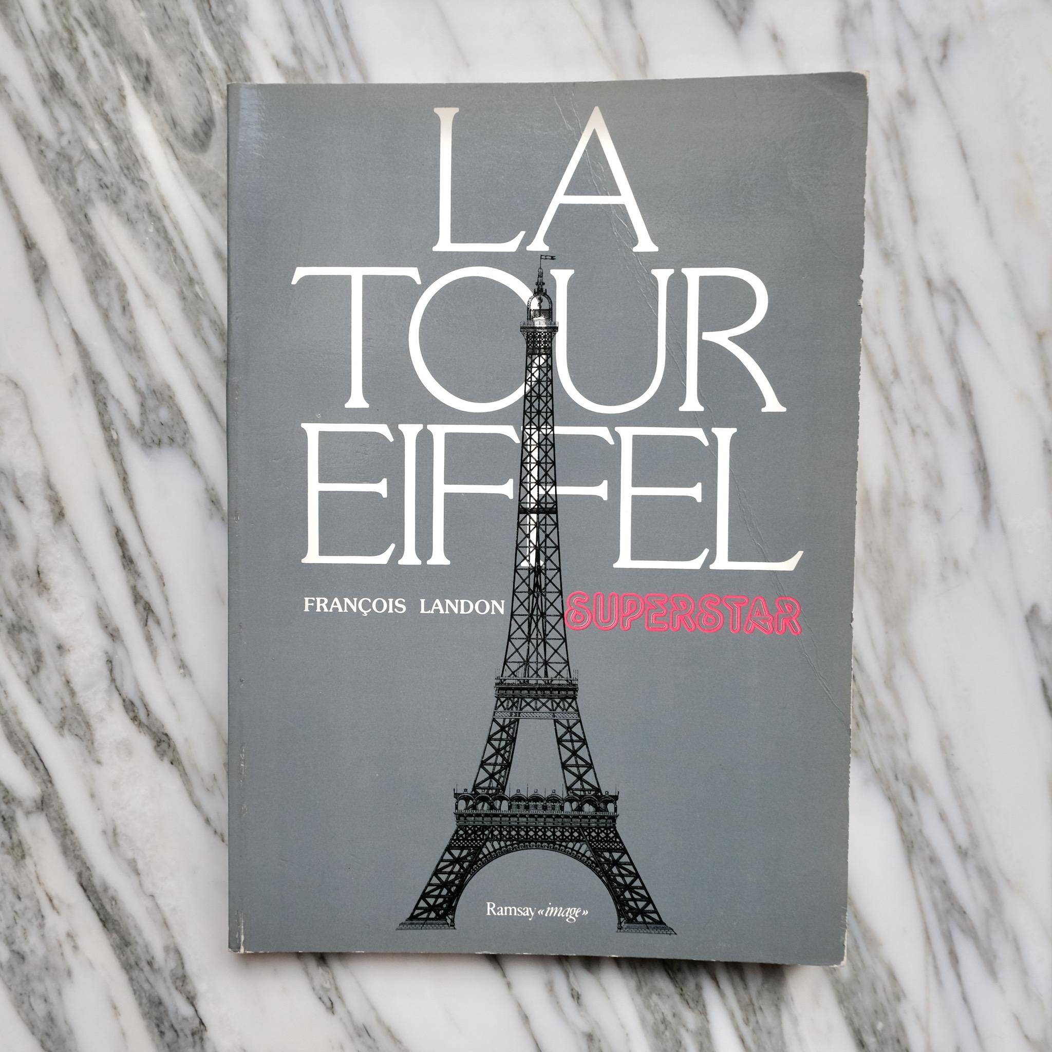 second bouquinistes auction La Tour Eiffel Superstar