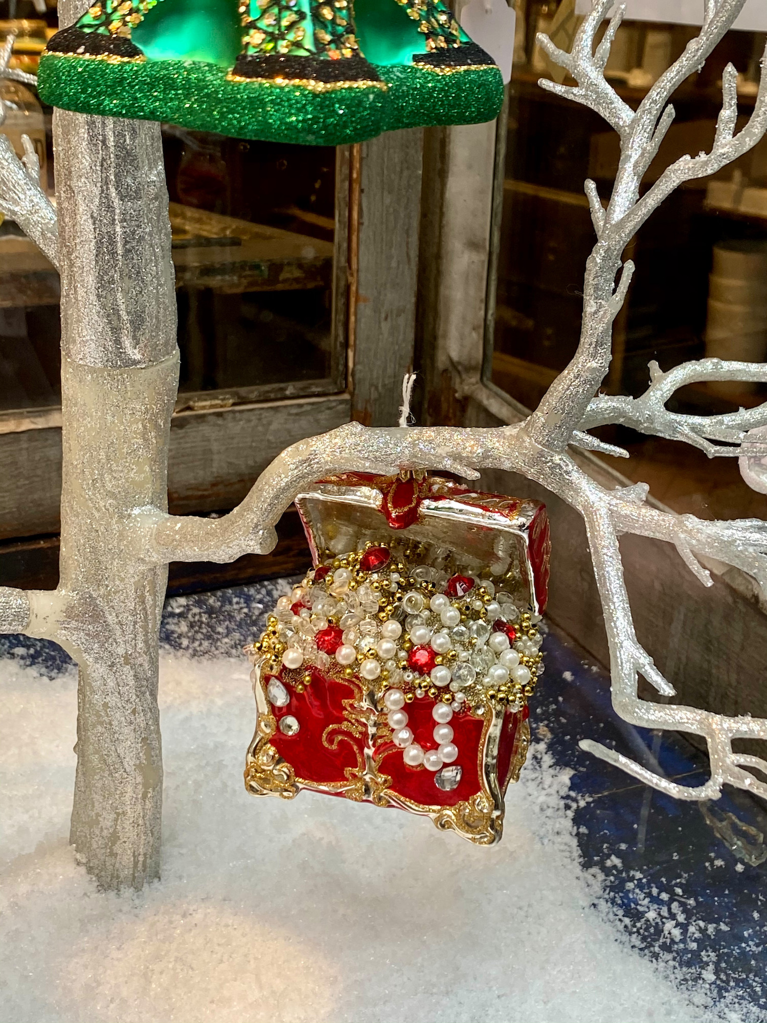 treasure chest ornament