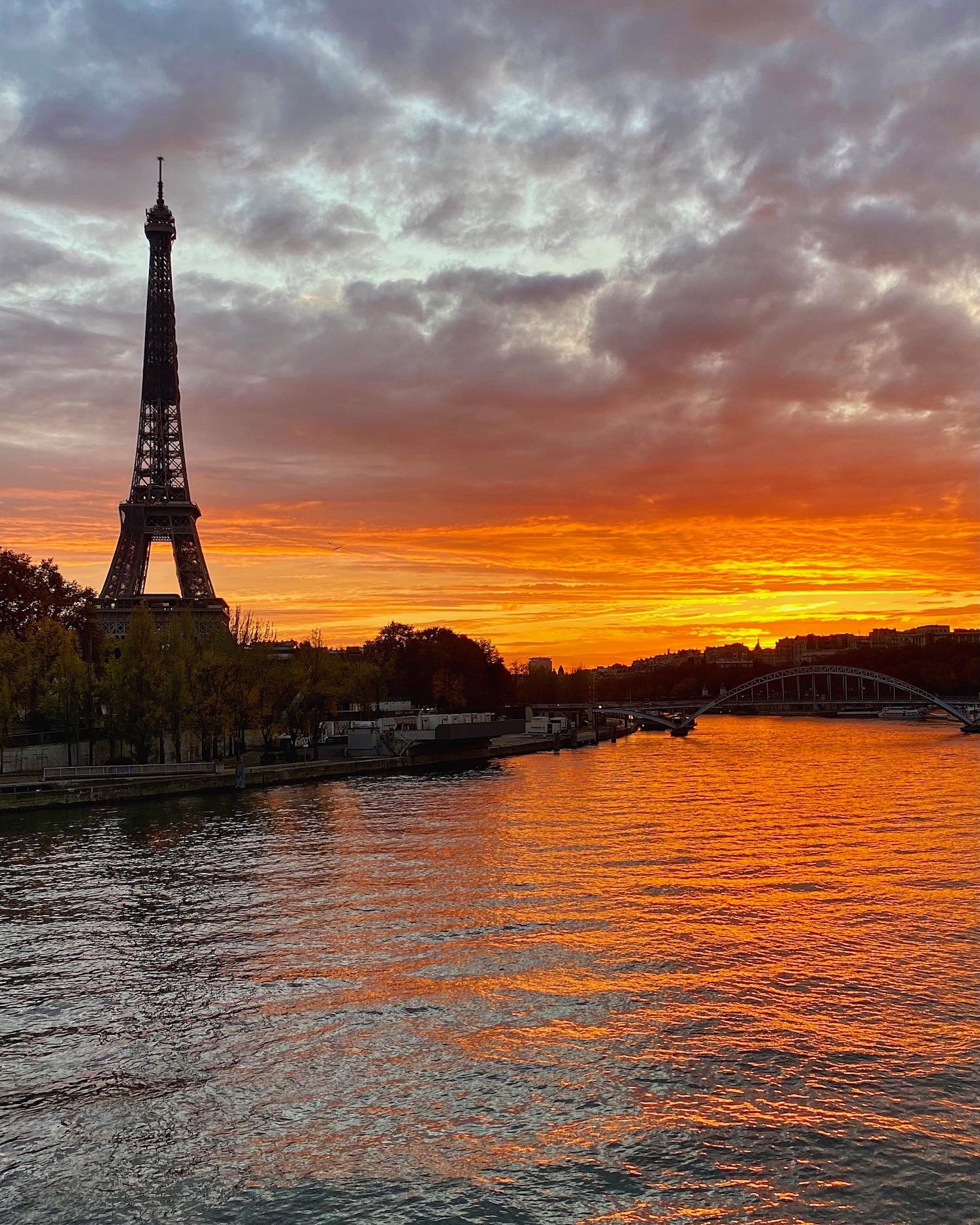 eiffel tower sunset best of 2020