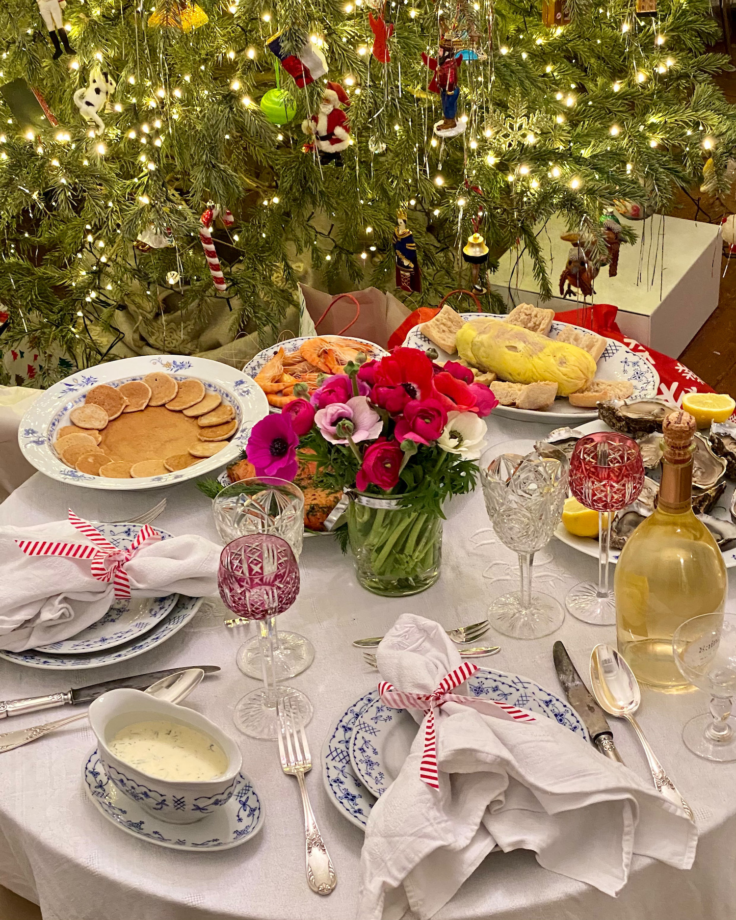 christmas eve dinner 2020