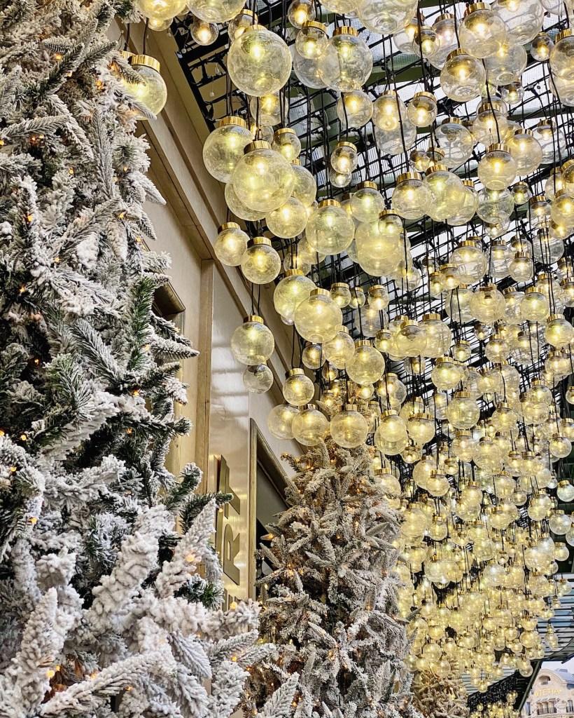 le bon marché christmas decorations 2020