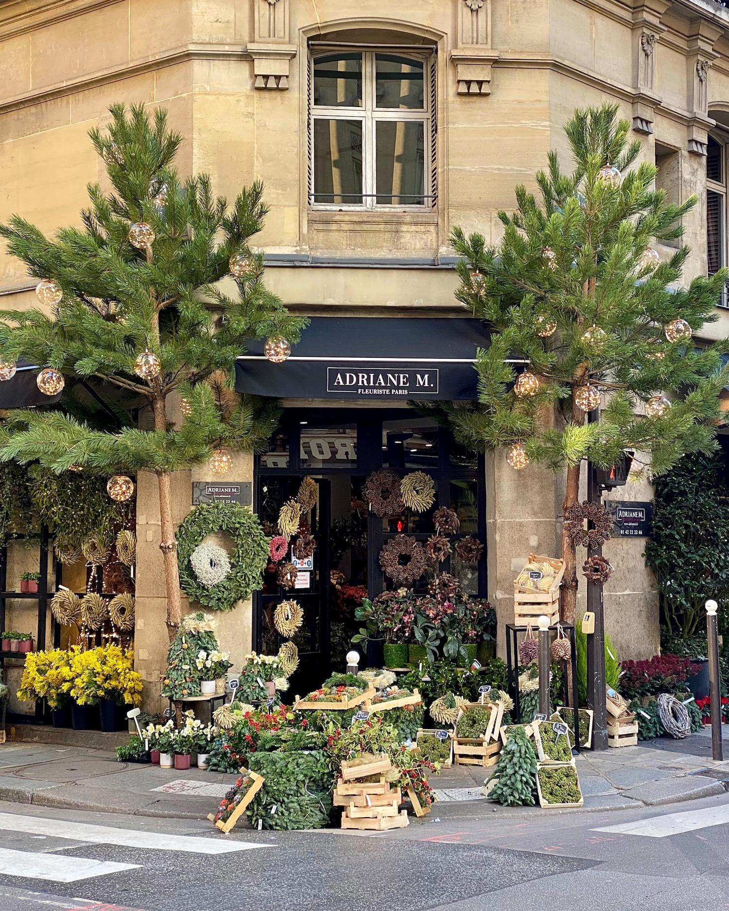2020 paris christmas decorations florist