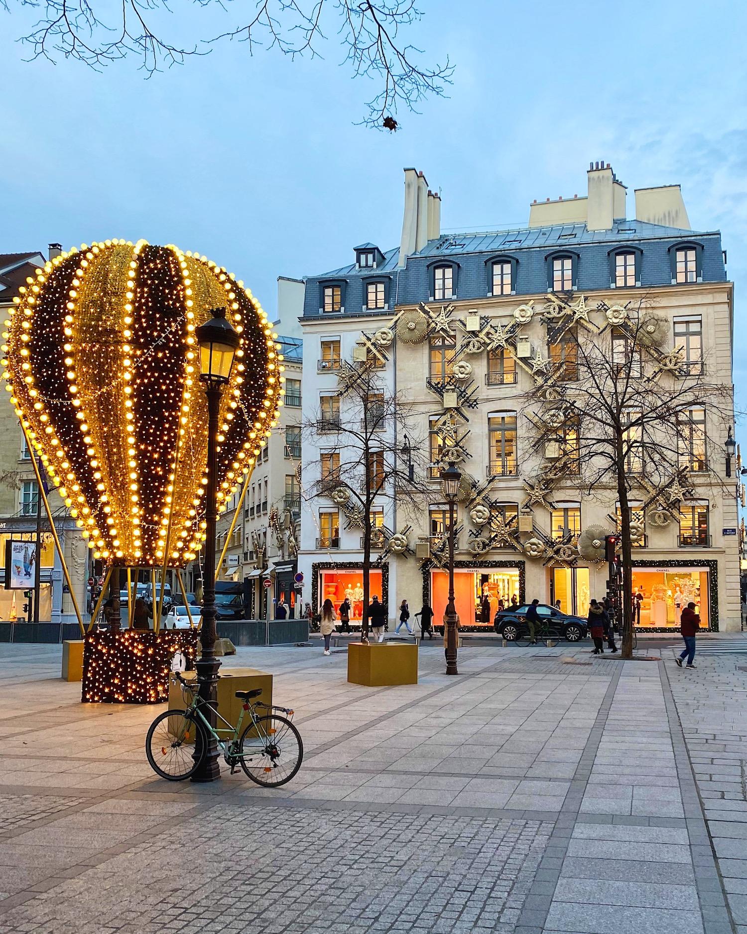 rue saint-honoré decorations 2020