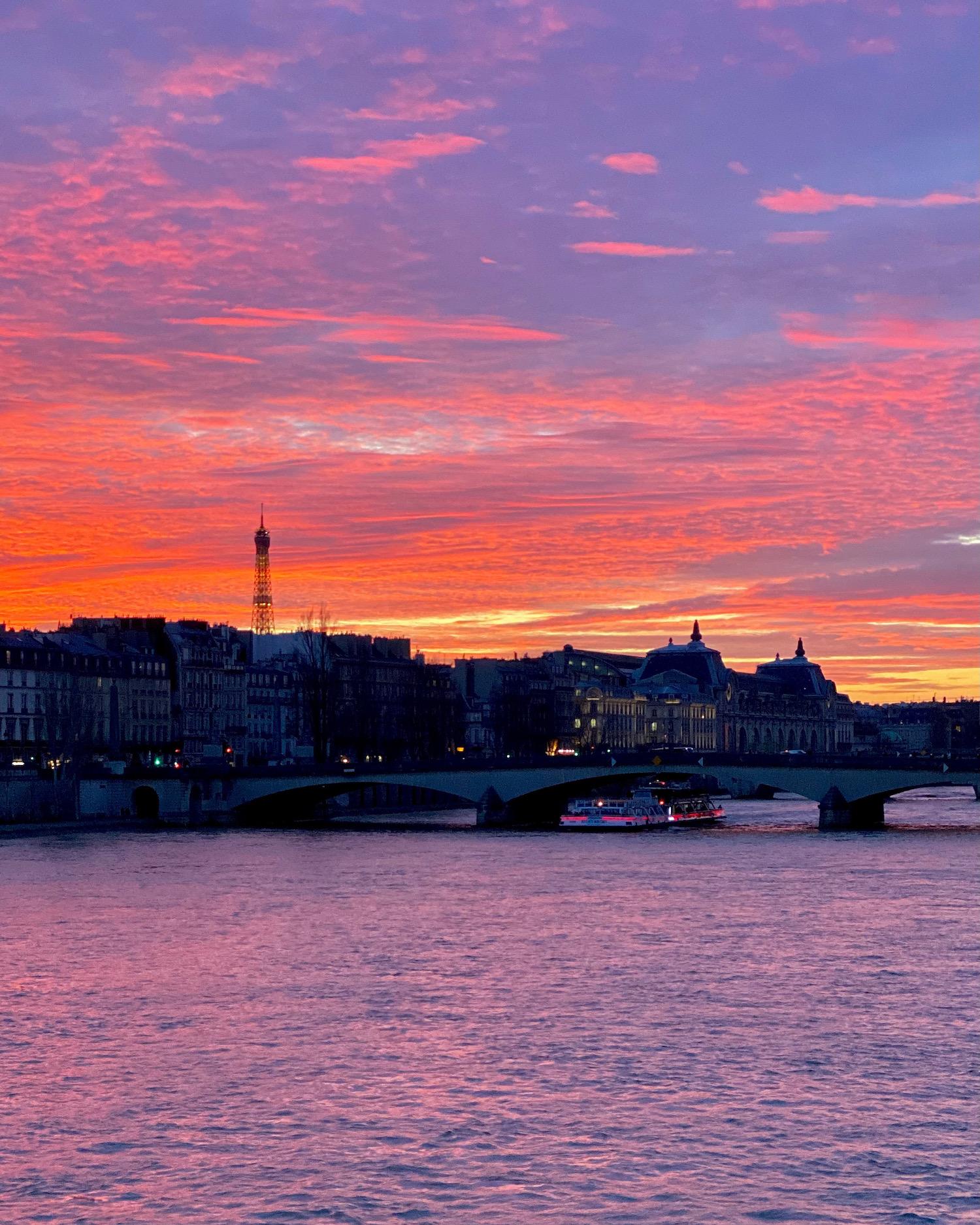 pont des arts sunset best of 2020
