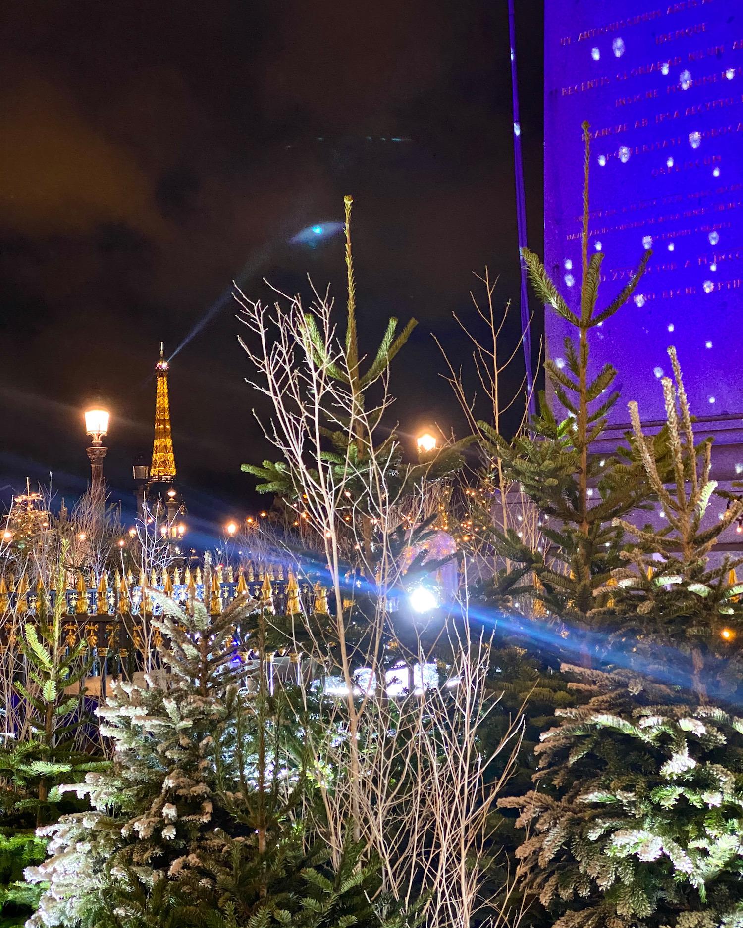 most beautiful christmas lights in paris place de la concorde