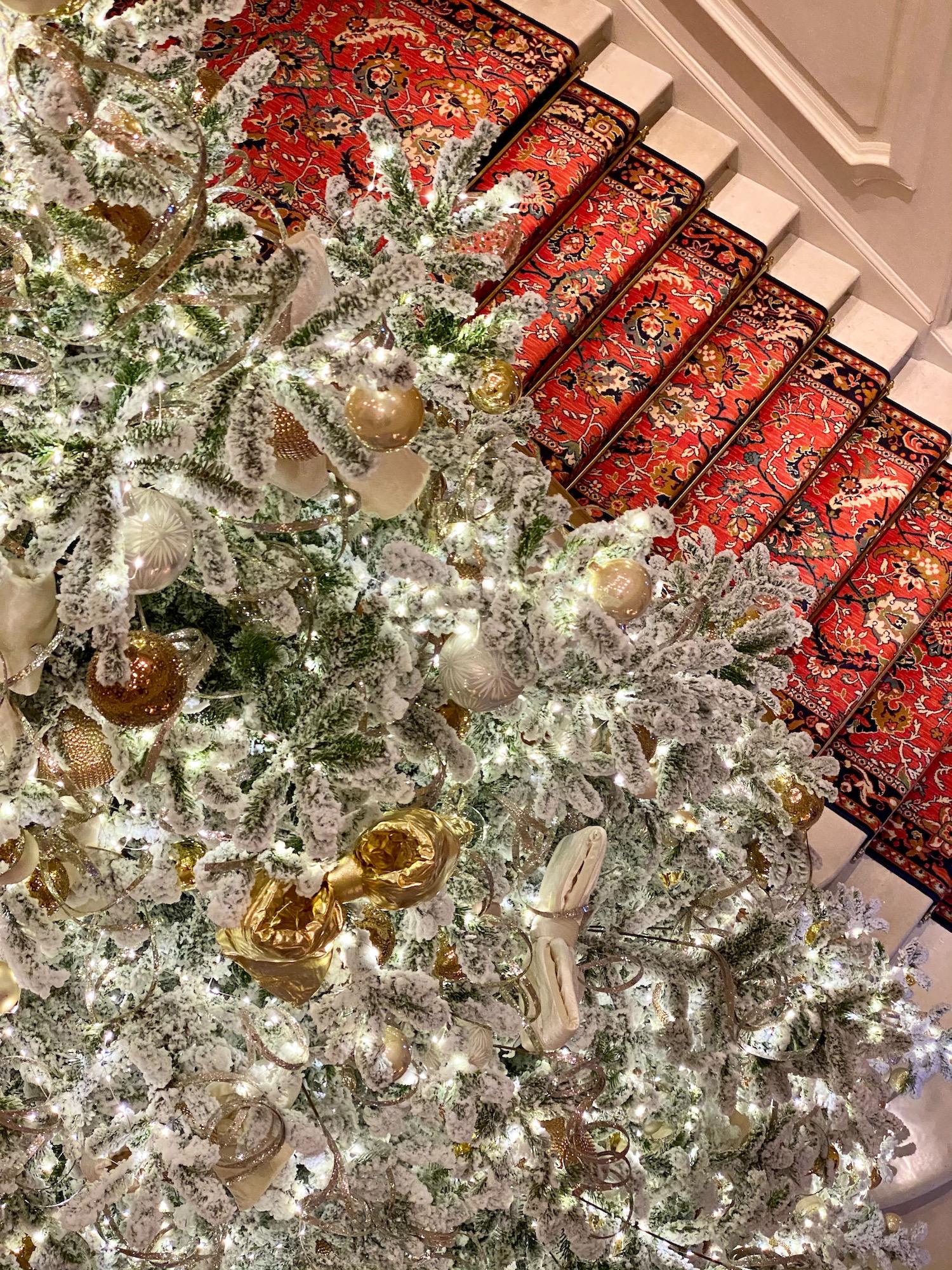 ritz paris christmas tree