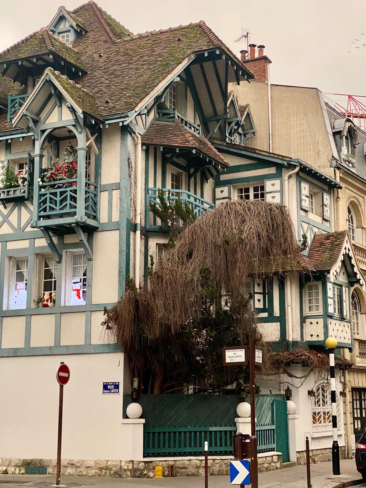 half-timbered house neuilly-sur-seine