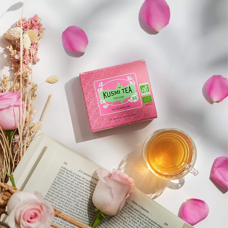 kusmi rose green tea