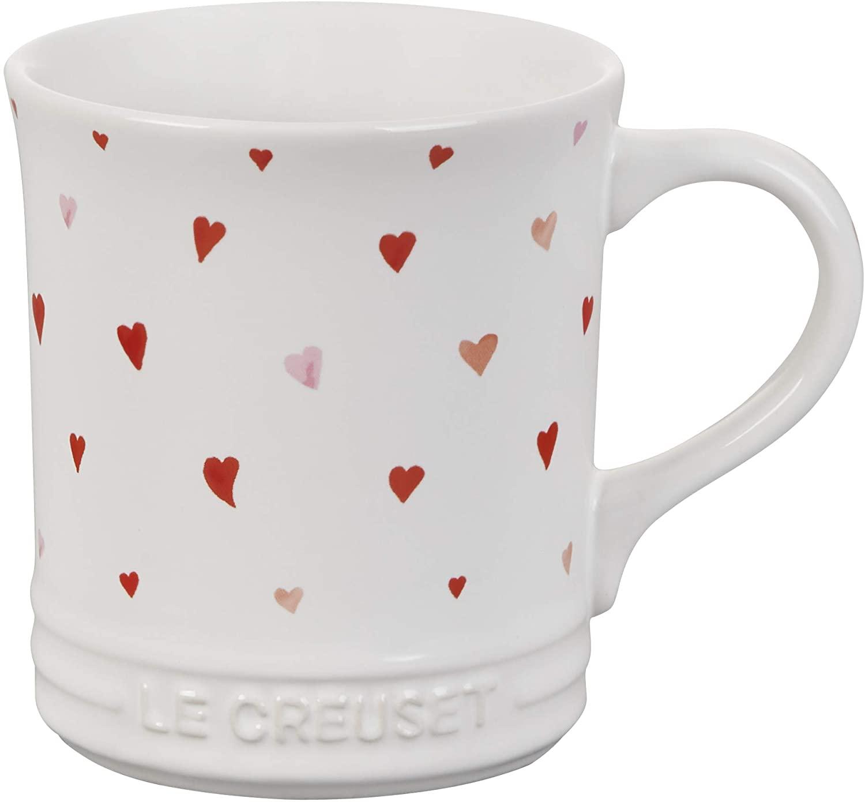 le creuset l'amour heart mug
