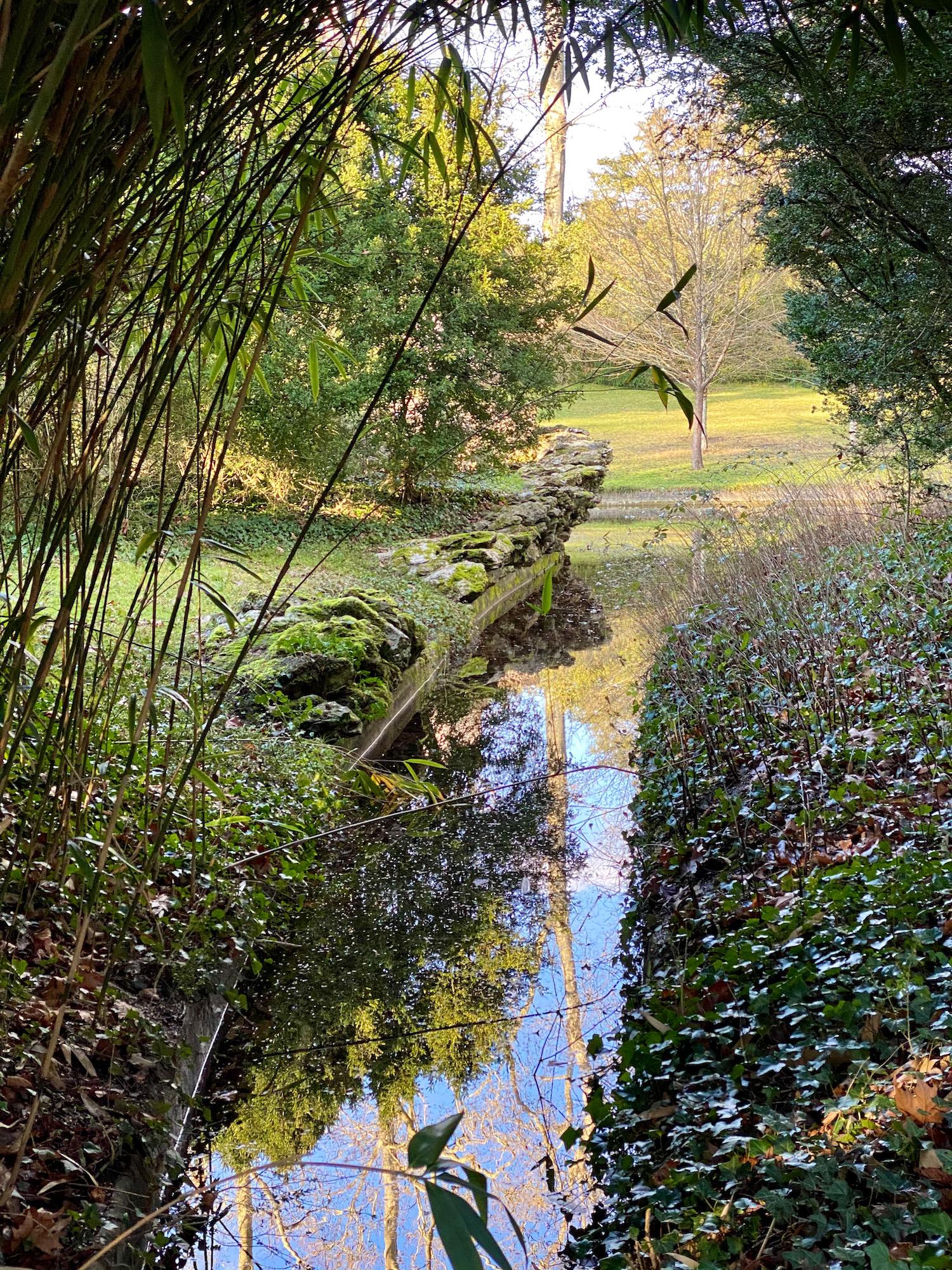 english garden river