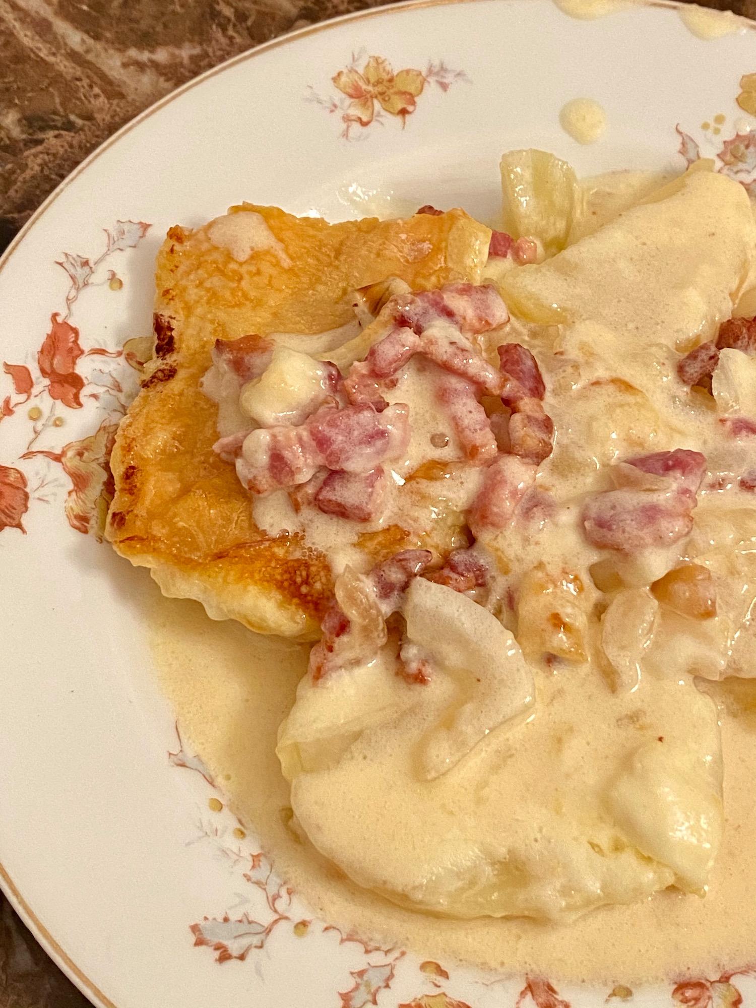 tartiflette french comfort food