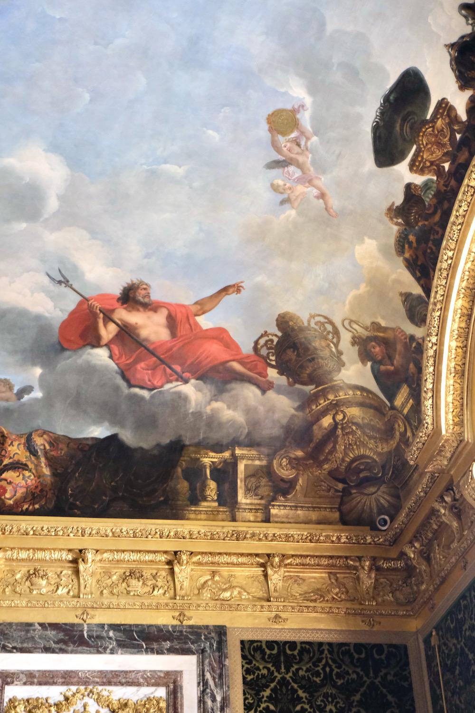 ceiling painting chateau de versailles