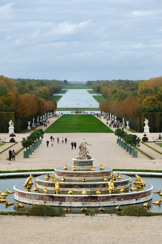 fall gardens chateau de versailles