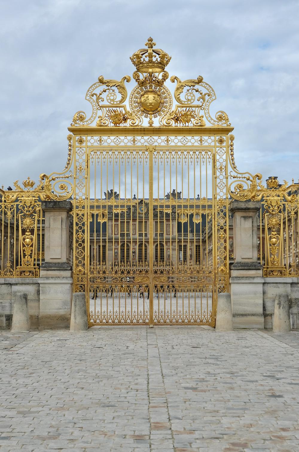 chateau de versailles gate