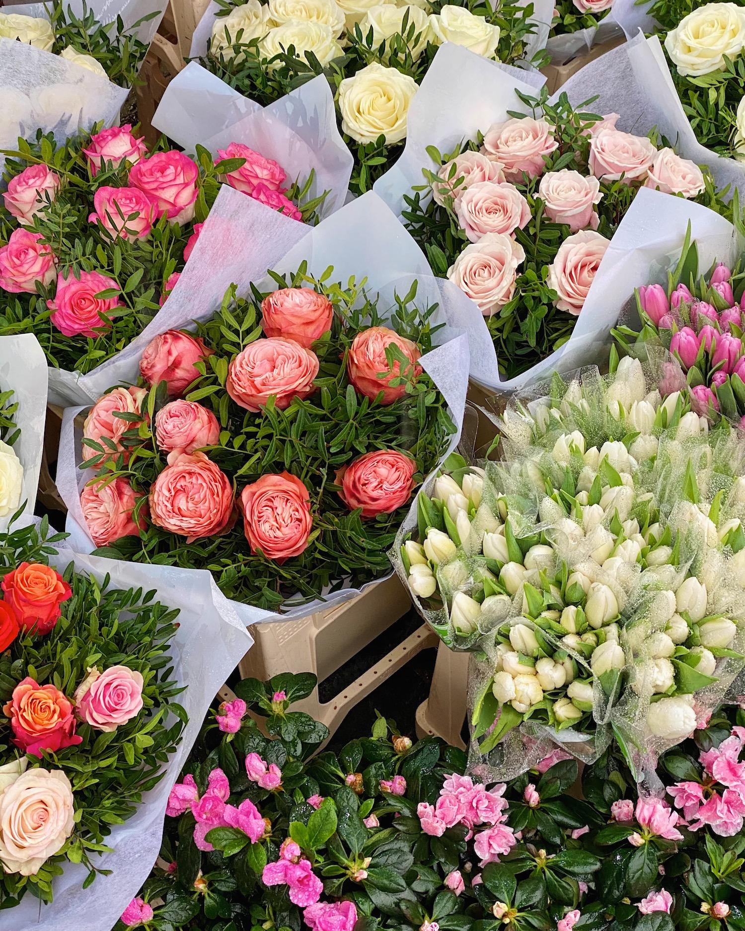 flowers in neuilly-sur-seine