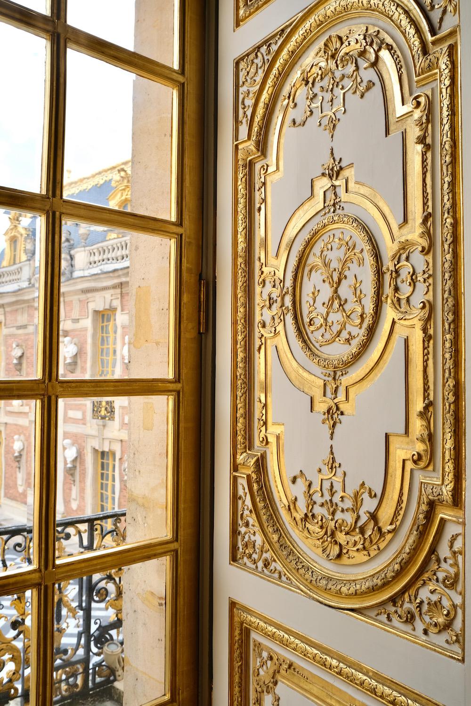 gilded detail chateau de versailles
