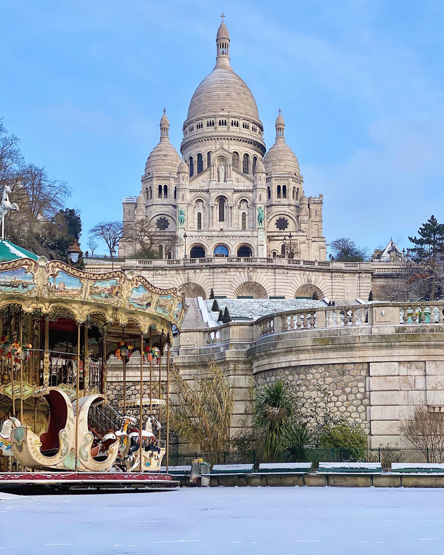 carousels of paris sacré-coeur montmartre