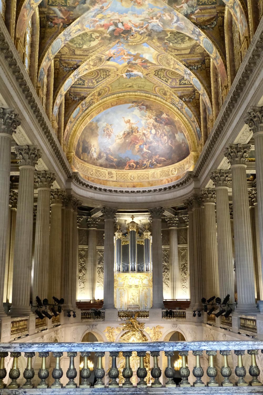 The Royal Chapel, a gothic chapel dedicated to Saint Louis