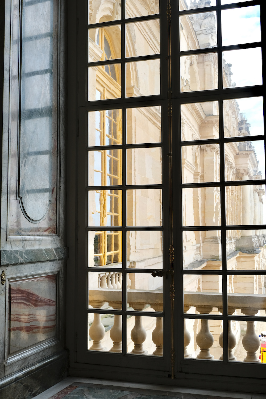 window at chateau de versailles