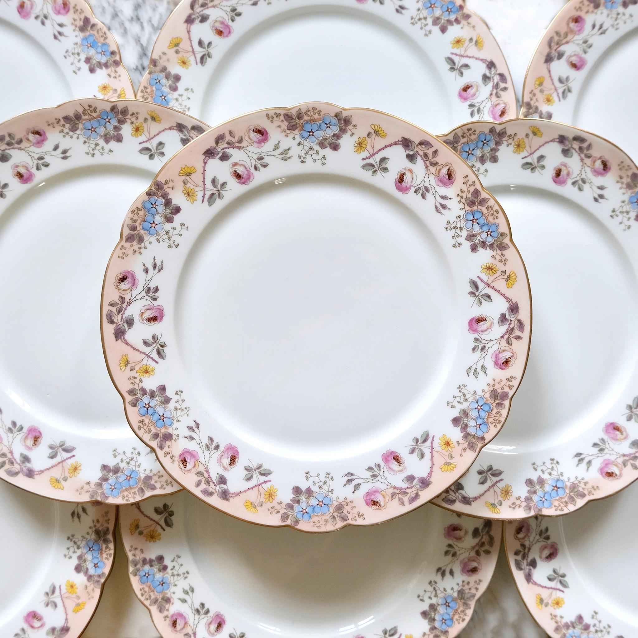 19th century ch. pillivuyt et cie plates