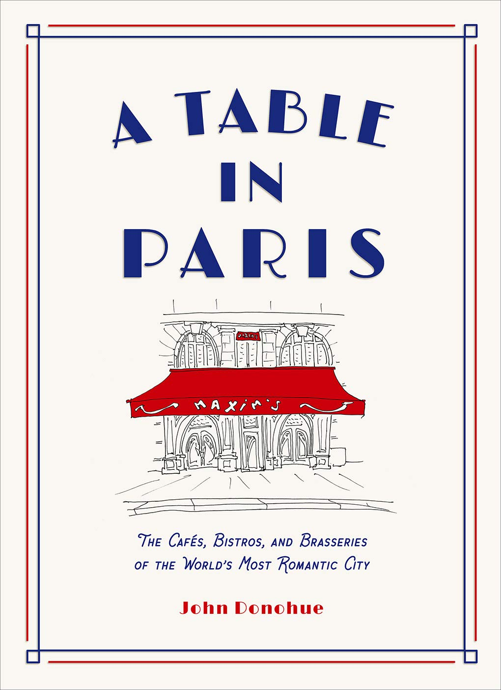 à table in paris book