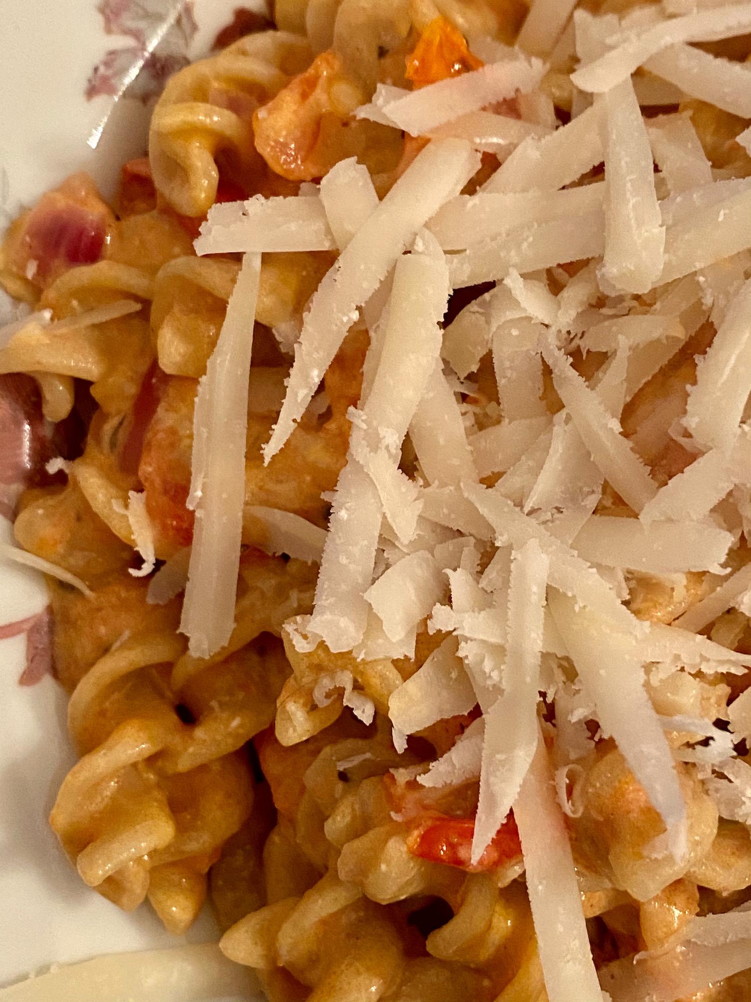 french version of tiktok pasta