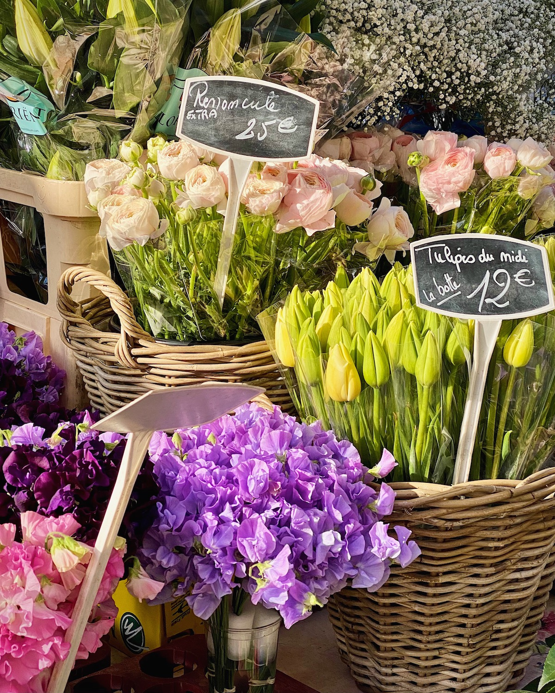 weekend links week twelve flower market