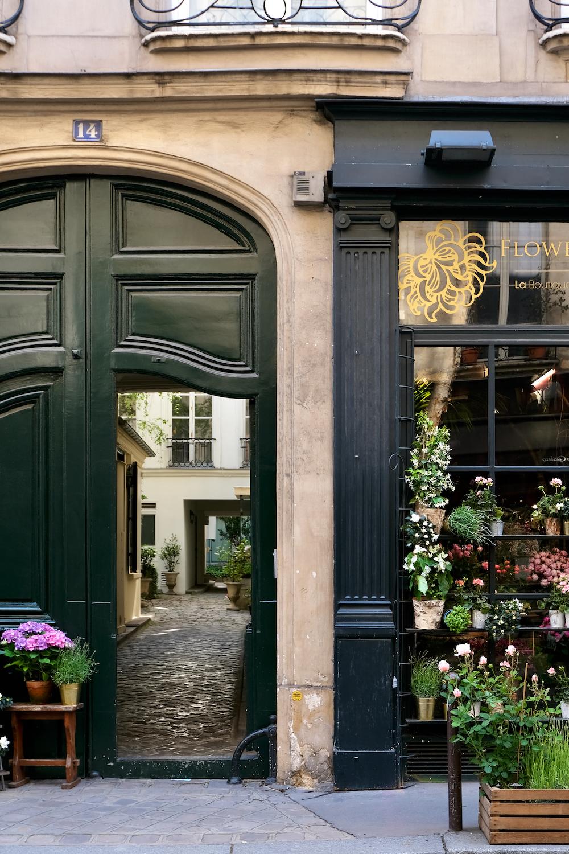 open door paris print
