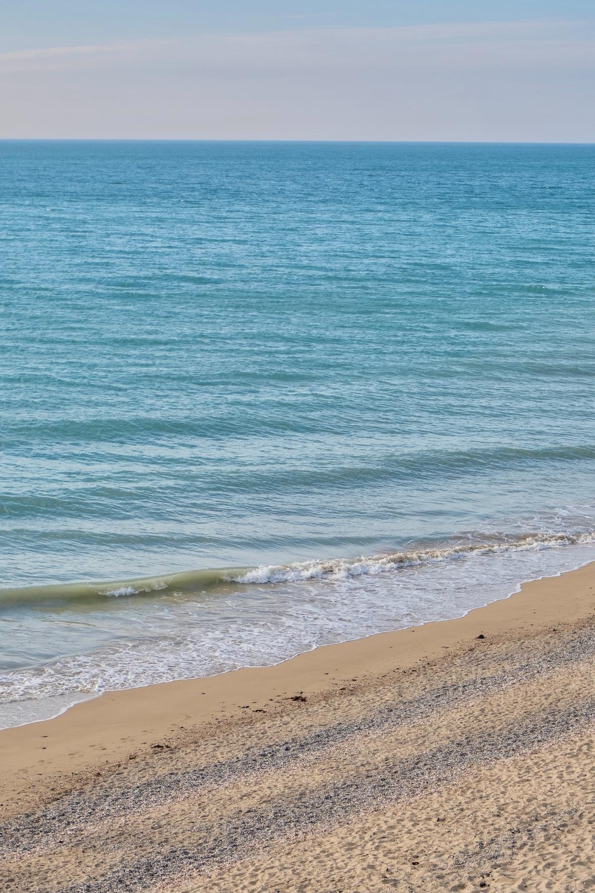 weekend getaway in carolles, normandy beach
