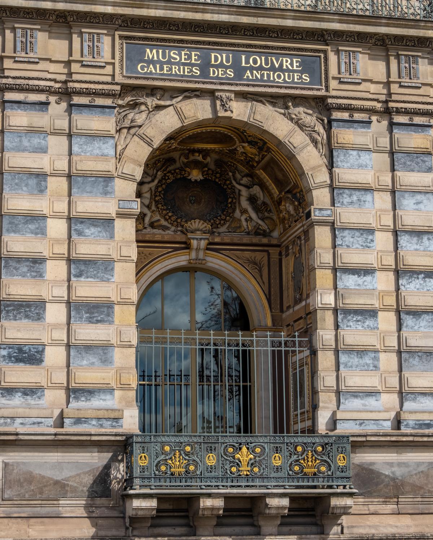 musée du louvre galeries des antiques