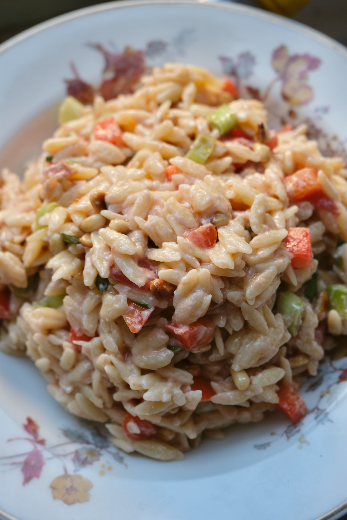 orzo salad with goat cheese recipe