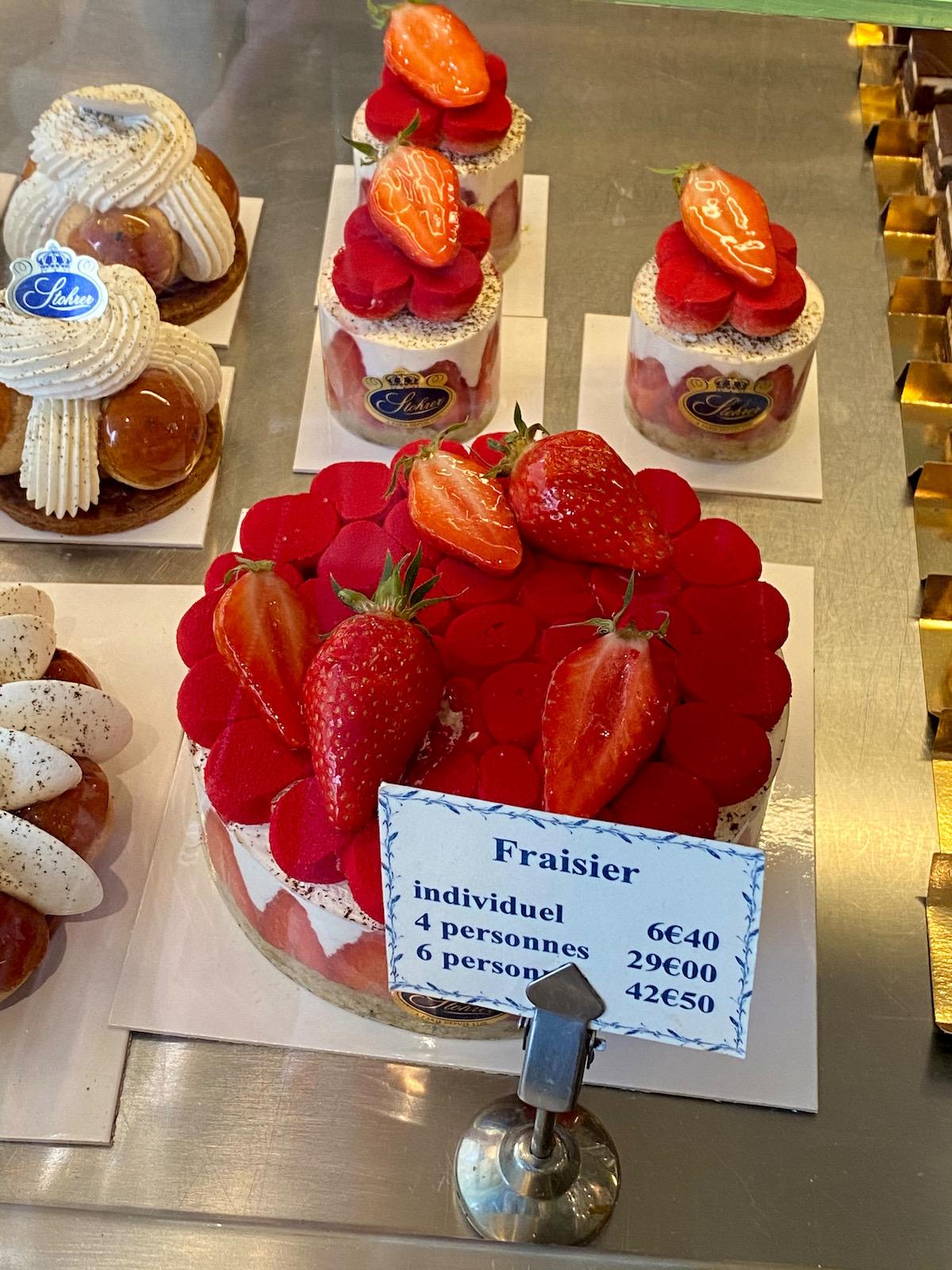 the stohrer fraisier