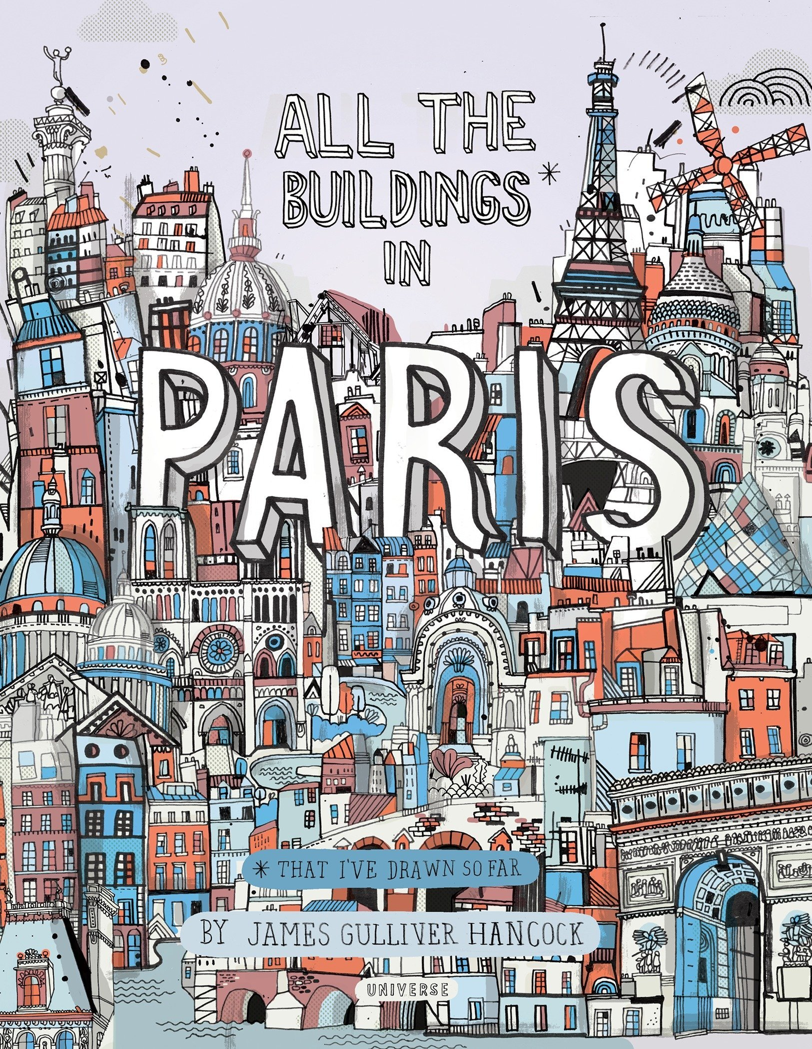 all the buildings in paris that i've drawn so far