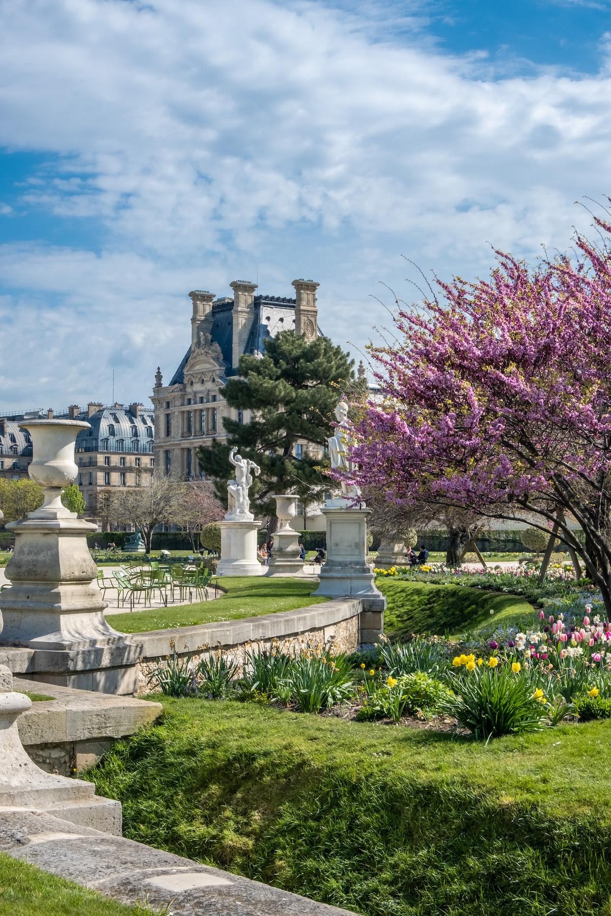 april in the tuileries paris print