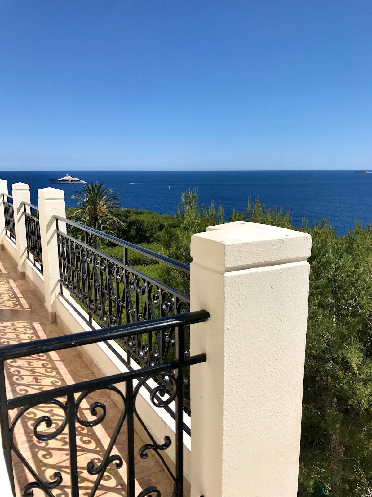 balcony view grand hotel du cap ferrat