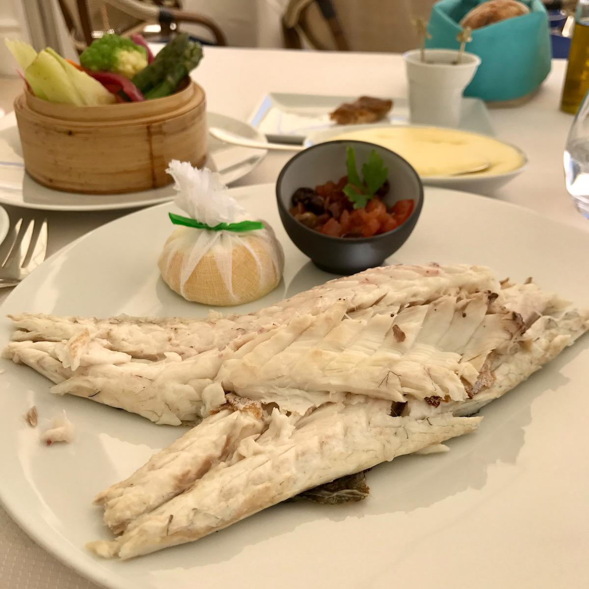 fresh fish at club dauphin