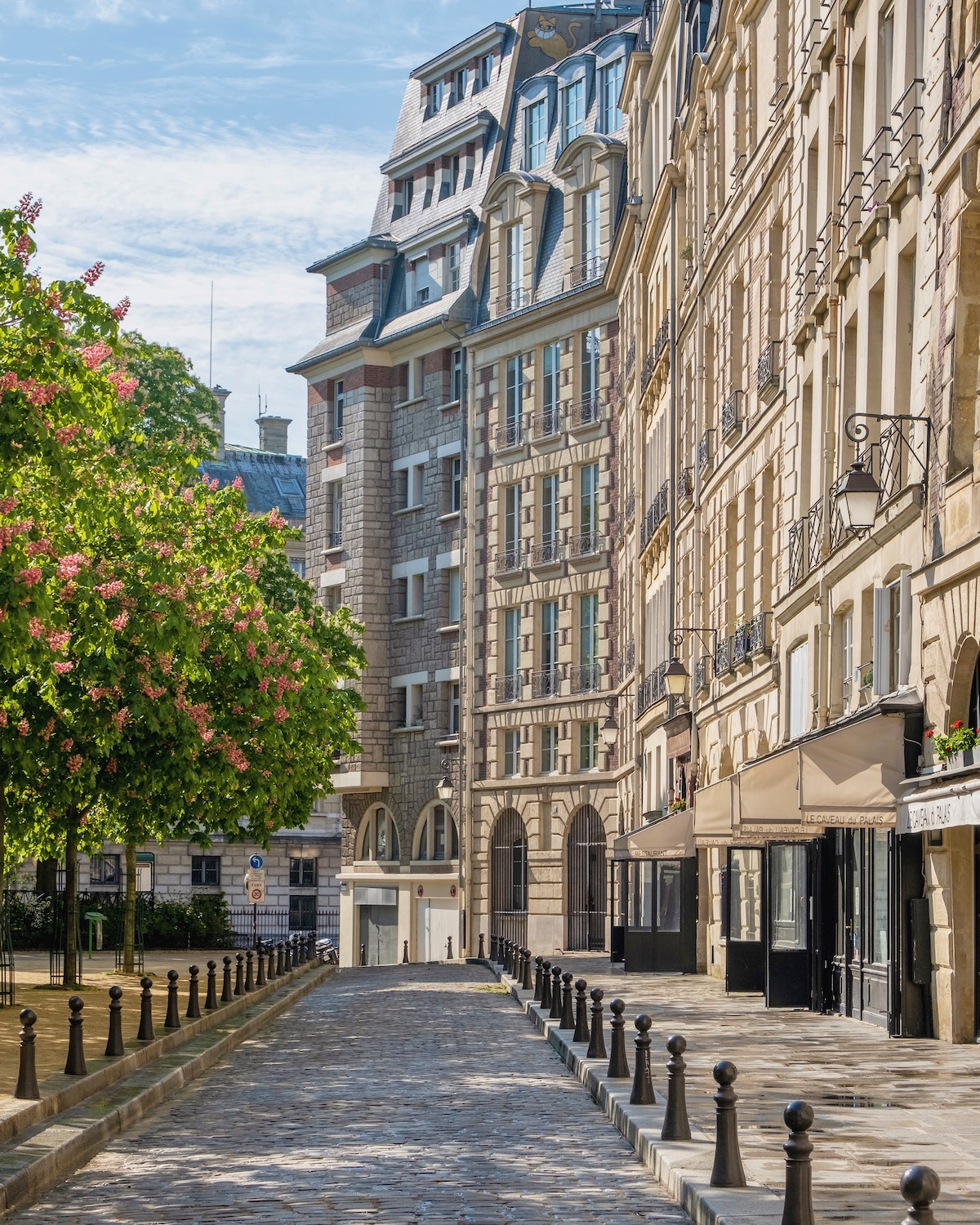 place dauphine in the spring