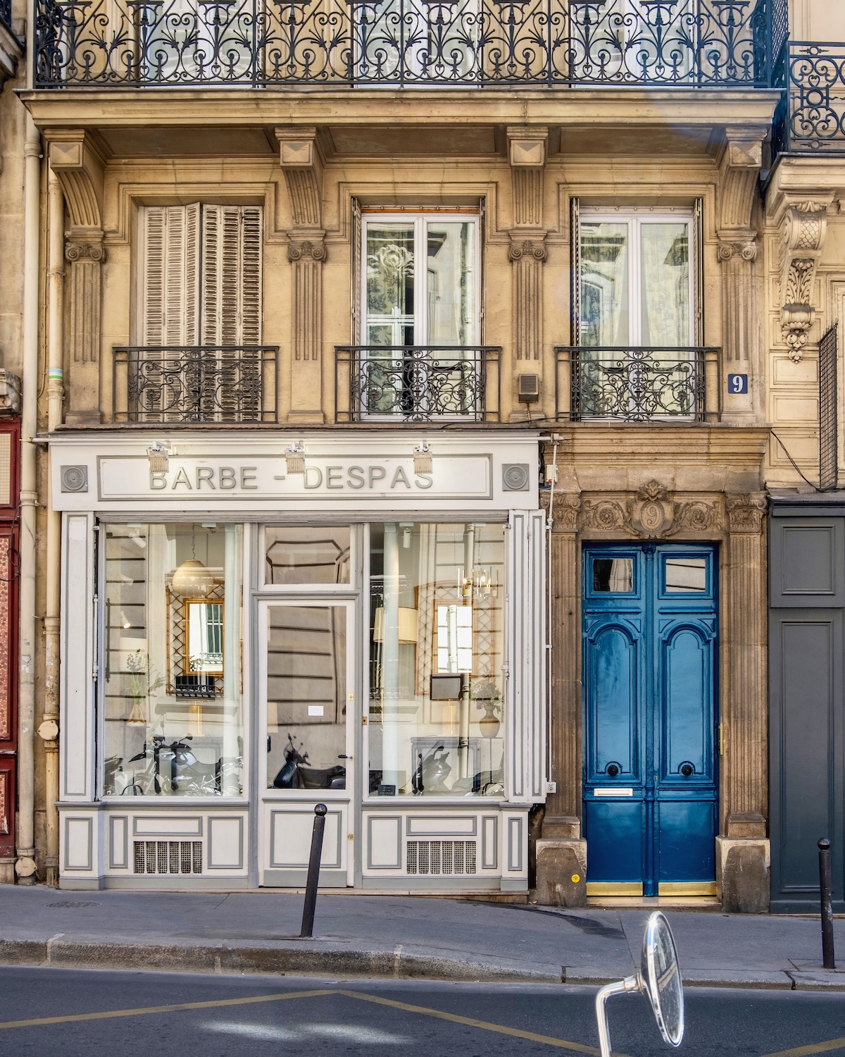 rue du bac facade. five friday finds from france including the french gas station.