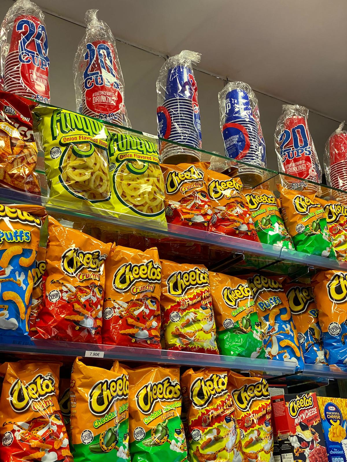 american foods in paris