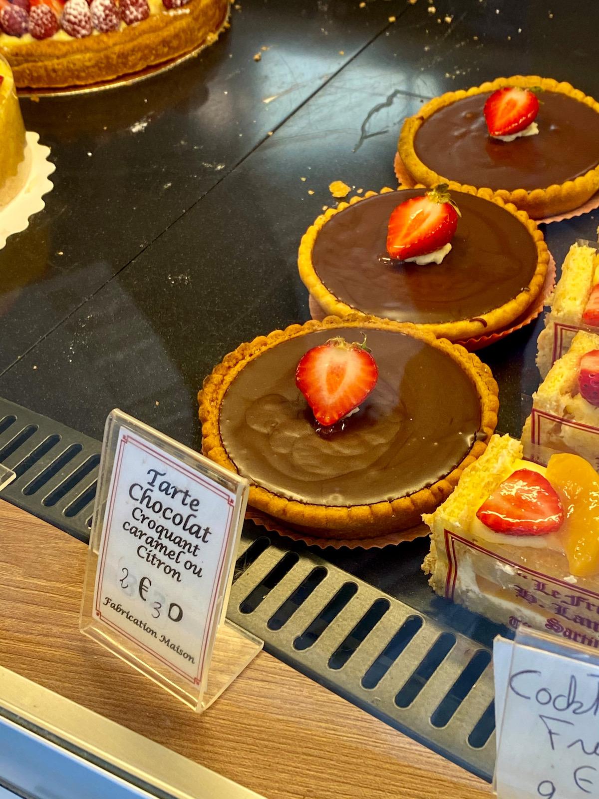 the best tarte au chocolat