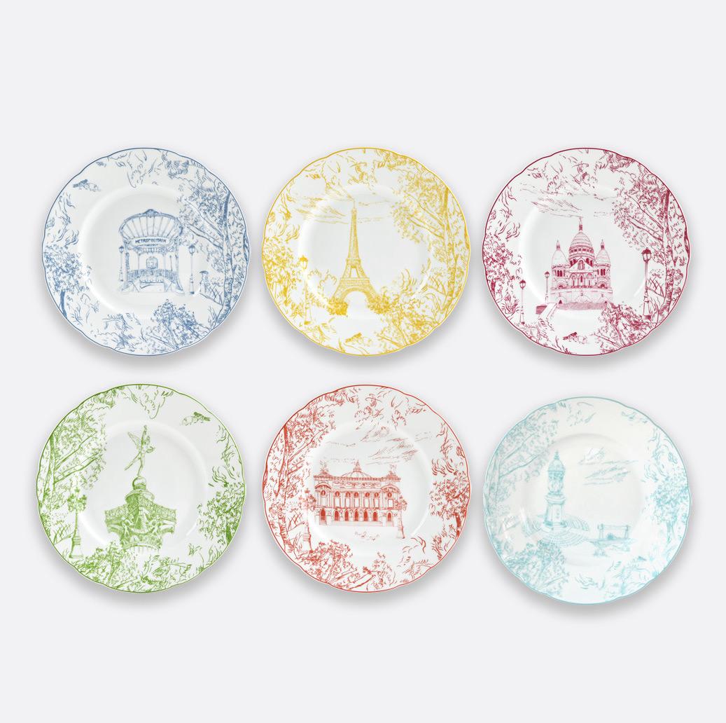bernardaud's tout paris porcelain collection