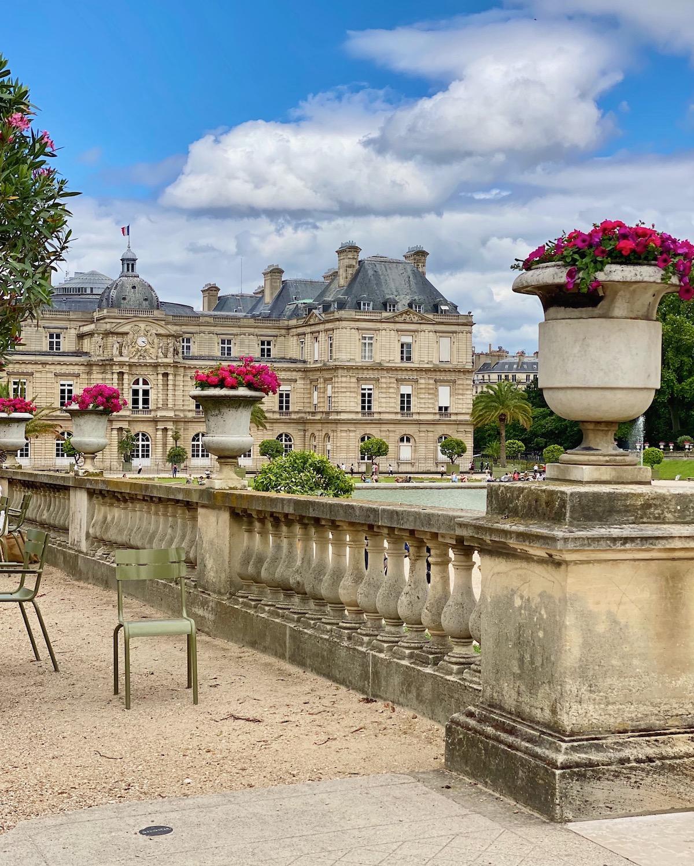 jardin du luxembourg summer