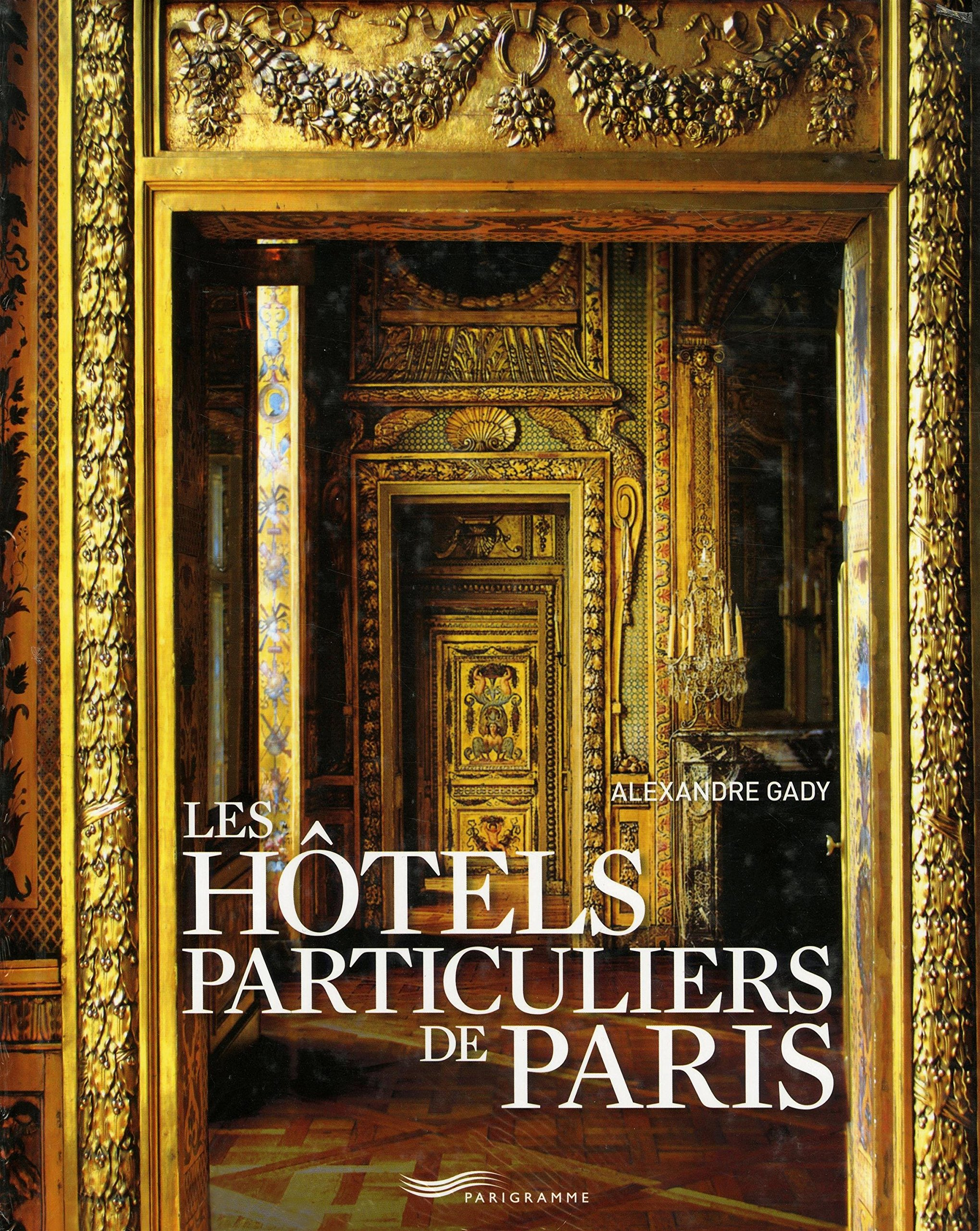 hôtels particuliers de paris book