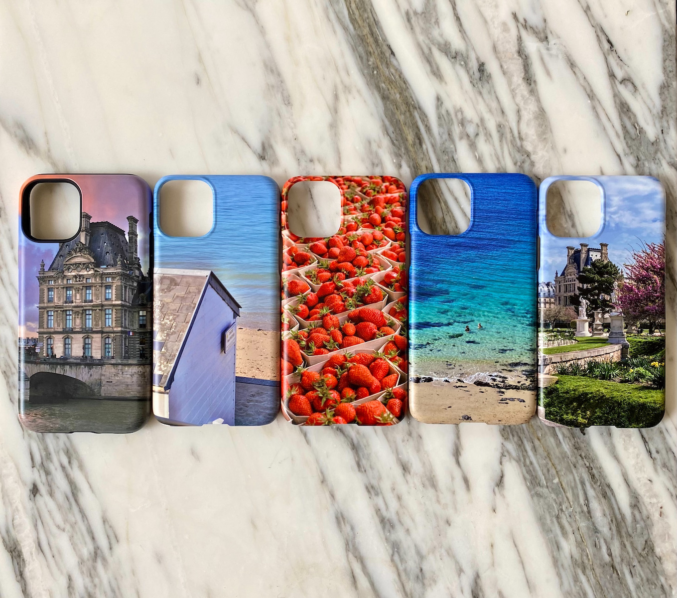 paris and normandy phone cases
