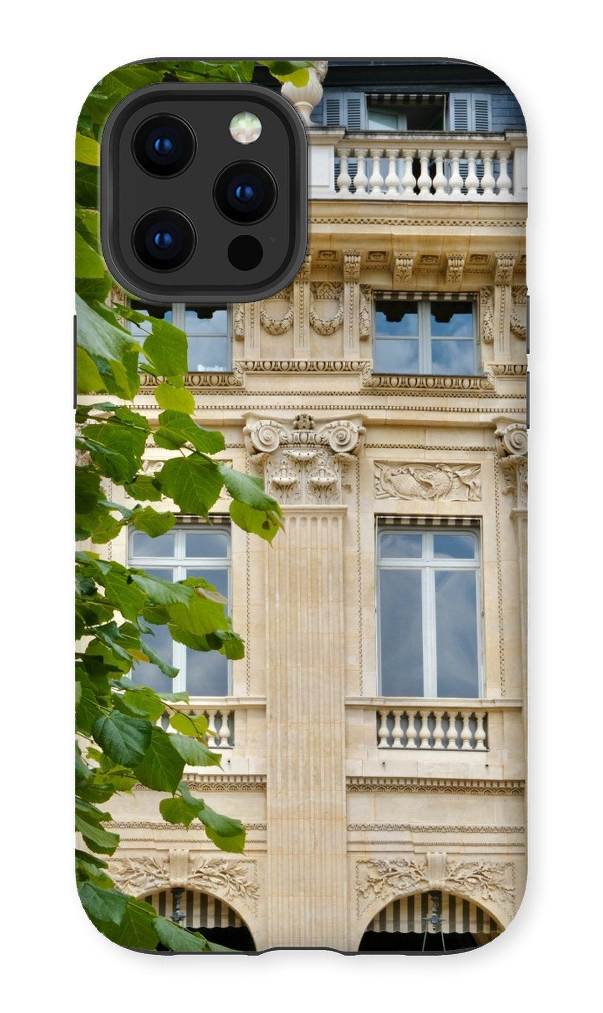 jardin du palais royal in the summer phone case